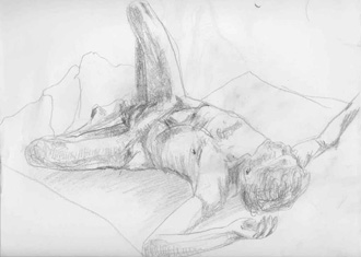 Barty - life drawing