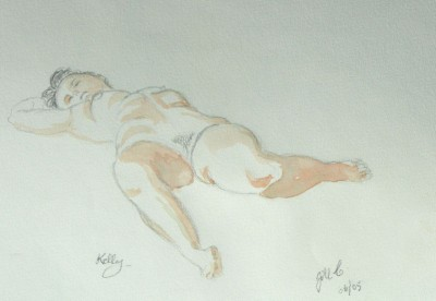 Life drawing in Aude