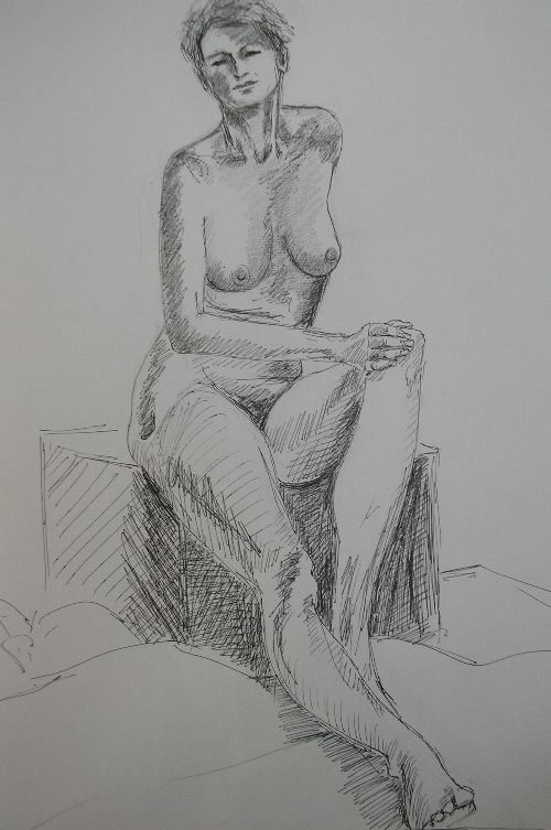 South France Life Drawing